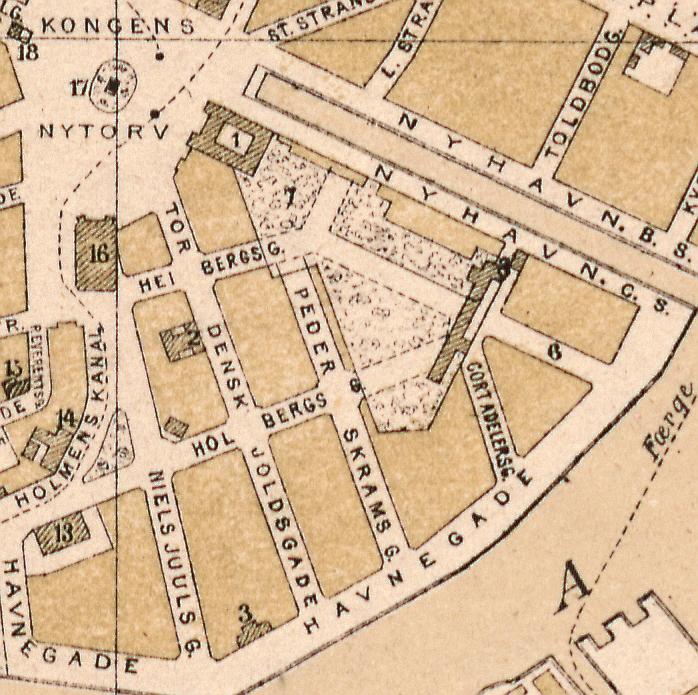 1872 - Udsnit Gammelholm