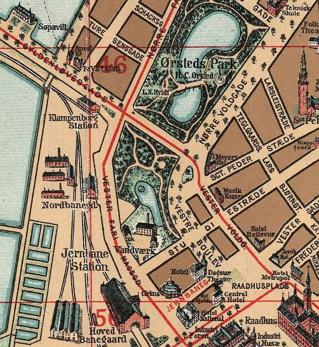 Aborreparken - kortudsnit 1897