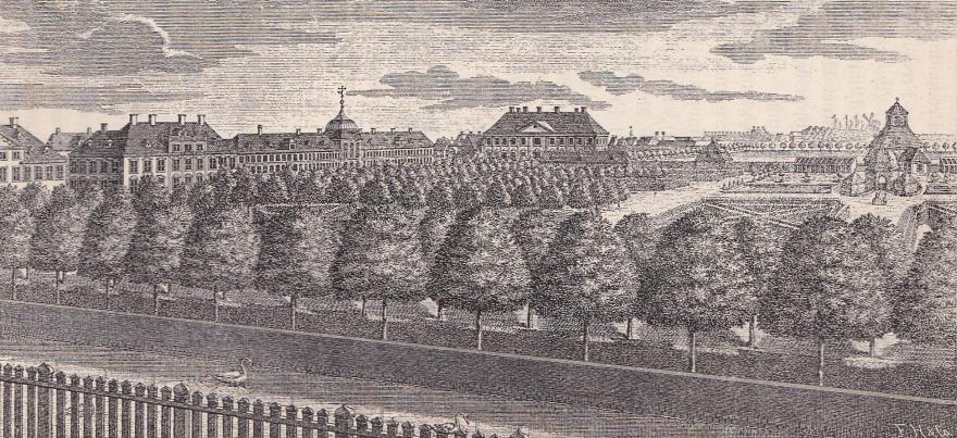 Amalienborg Have (efter Thurah (efter Bruun)) RES