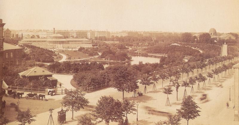 Botanisk Have - 1880erne RES