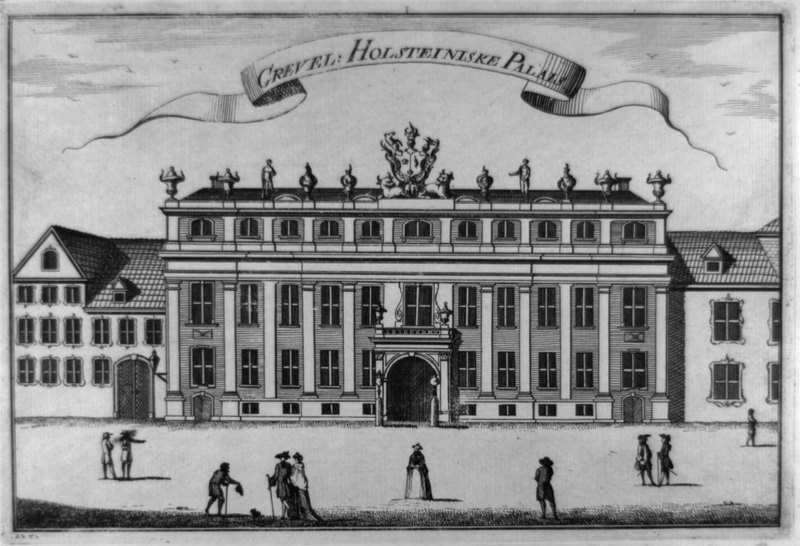 Det Holsteinske Palæ - 1762