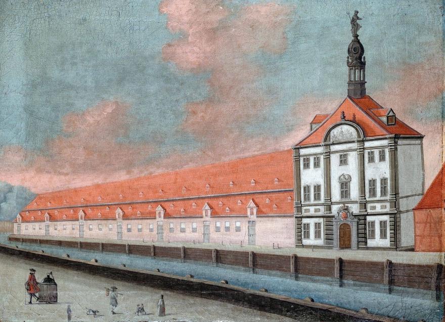 Det kongelige takkelhus - 1749 - original SMK RES