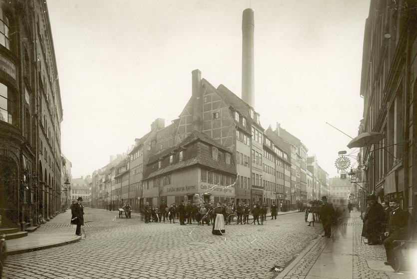 Helsingørsgade. Foto af Johannes Hauerslev. 1932. (Københavns Museum)