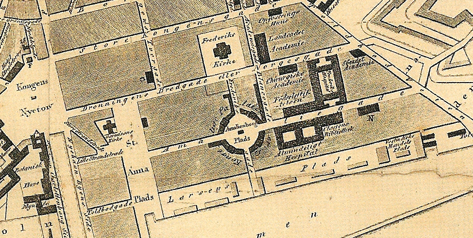 Kortudsnit Frederiksstaden1820