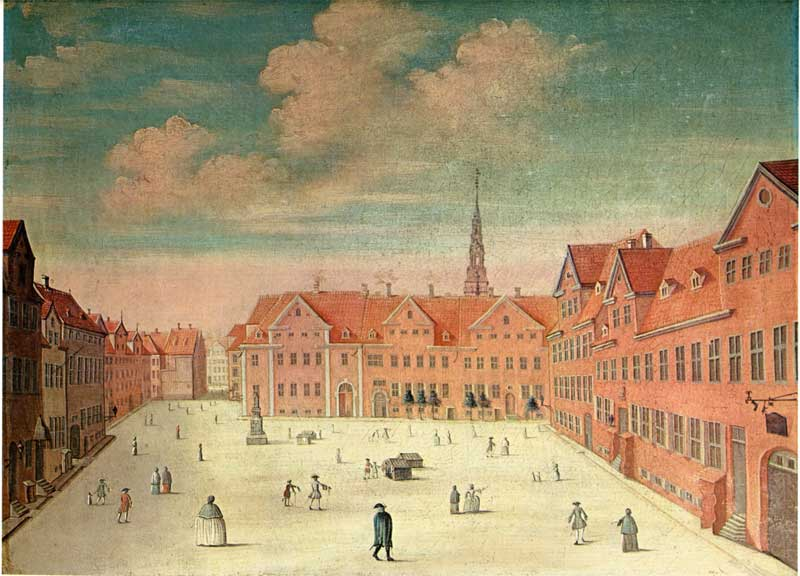 Maleri af Johannes Rech 1748