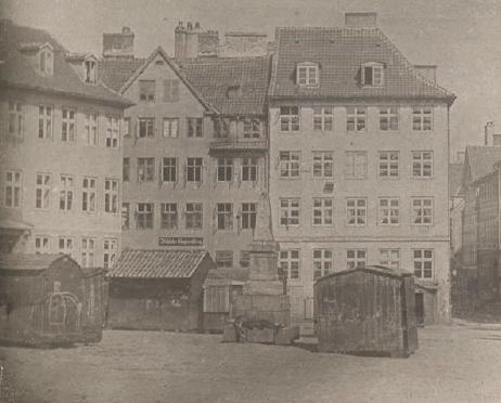 Niels Ludvig Mariboe - foto 1841 - udsnit