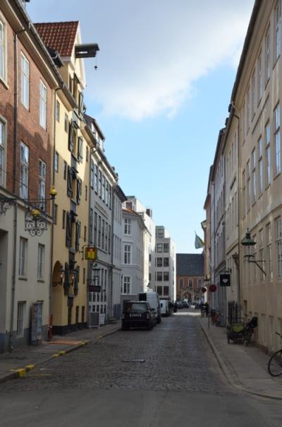 Admiralgade set mod syd. For enden ligger Holmens Kirke.