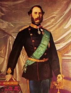 Kong Christian den 9. malet af Ole Henrik Olrik.