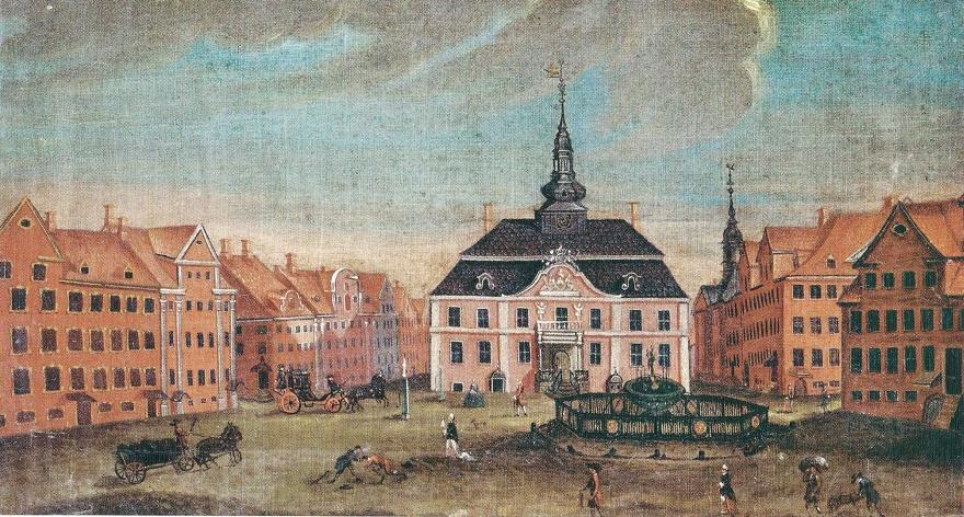Gammeltorv - Rach og Eegberg 1757 RES