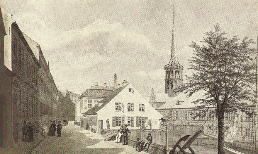 Slotsholmsgade H G F Holm RES