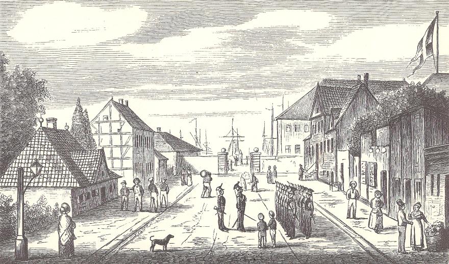 Tegning af P. Klæstrup - 1870erne