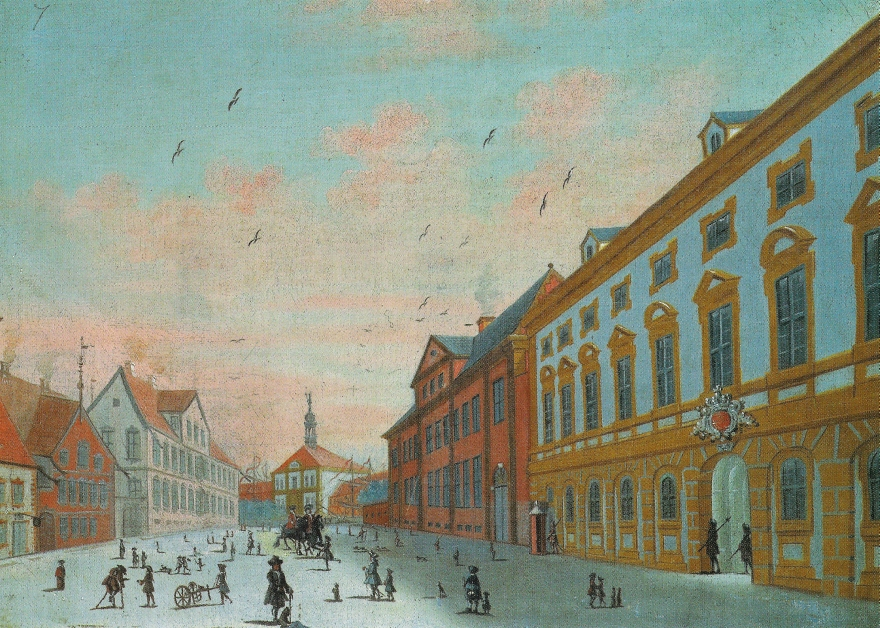 Rach og Egeberg - maleri 1749