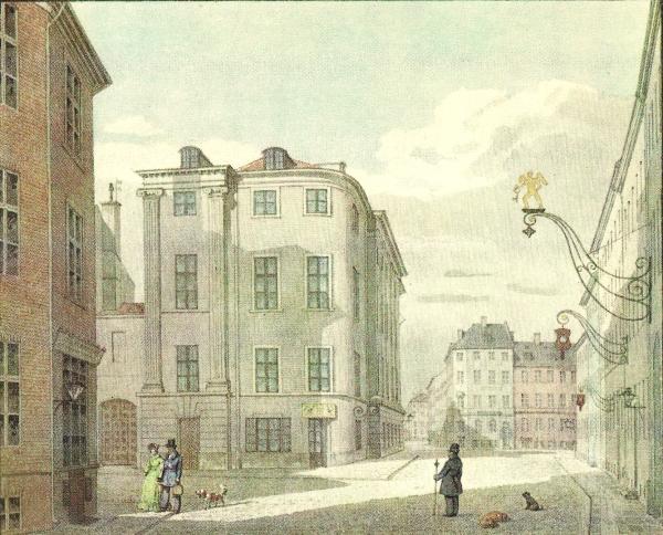 Vimmelskaftet - H G F Holm ca 1840 - RES
