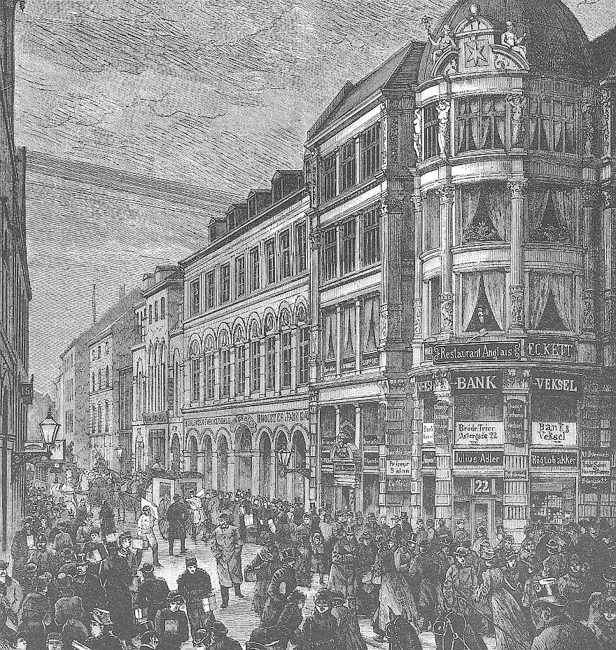 Fra Illustreret Tidende c.a 1885.