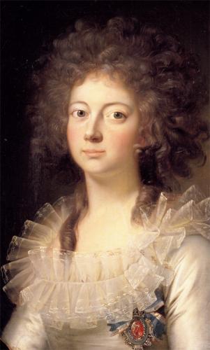 Kronprinsesse Marie Sophie Frederikke, malet af Jens Juel. Billedet tilhører Rosenborg Slot.