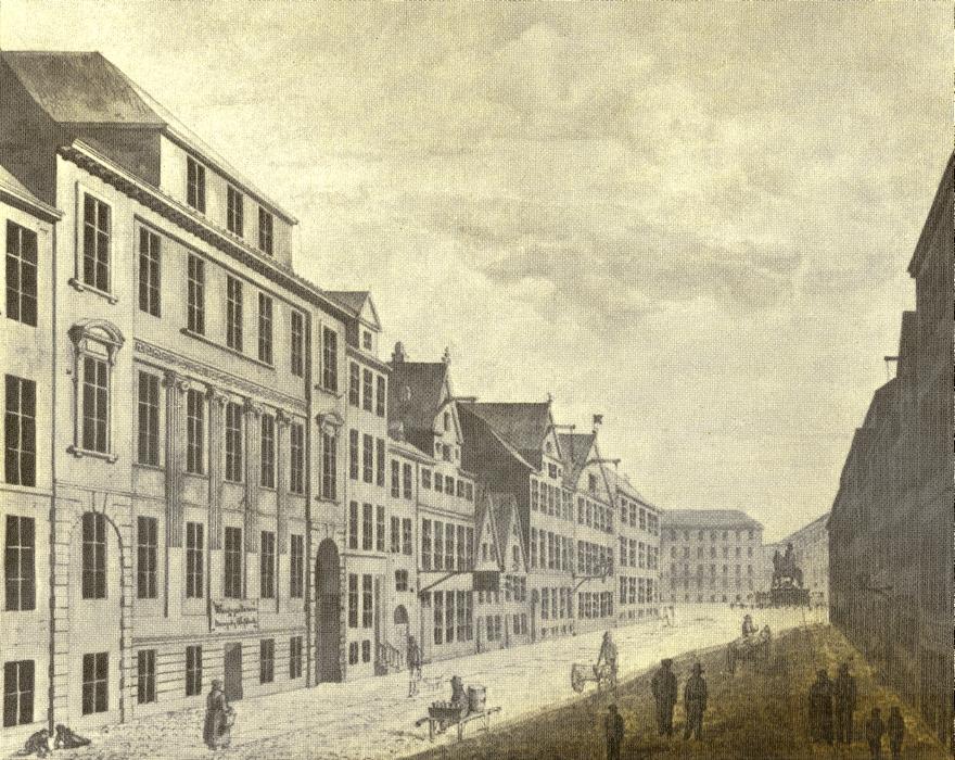 Store Strandstræde ca 1830 RES