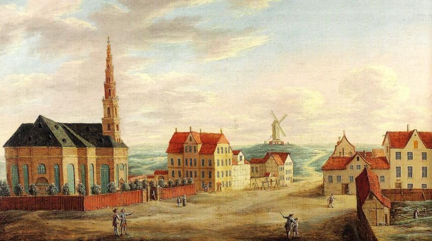Sankt Annæ Gade - ukendt kunstner -udateret