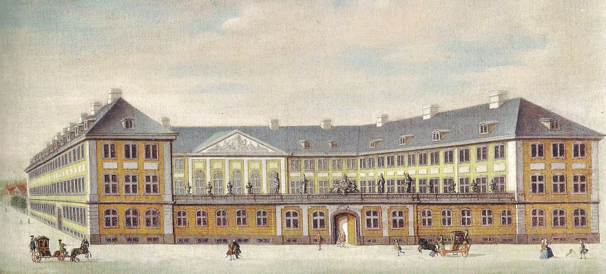 Prinsens Palæ - Rach og Eegberg - 1757 RES