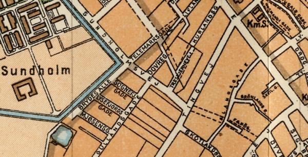 1929 - Trap 4udg - Udsnit Sundholmsvej