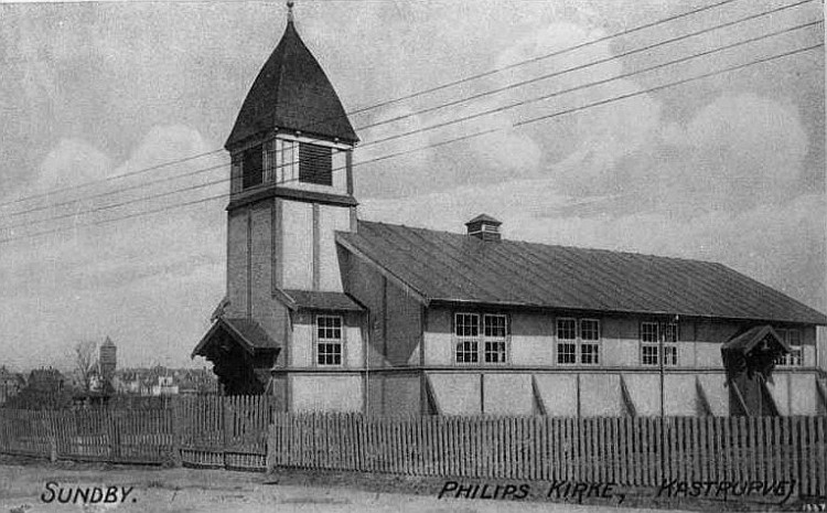 Fillips Kirke ca 1920