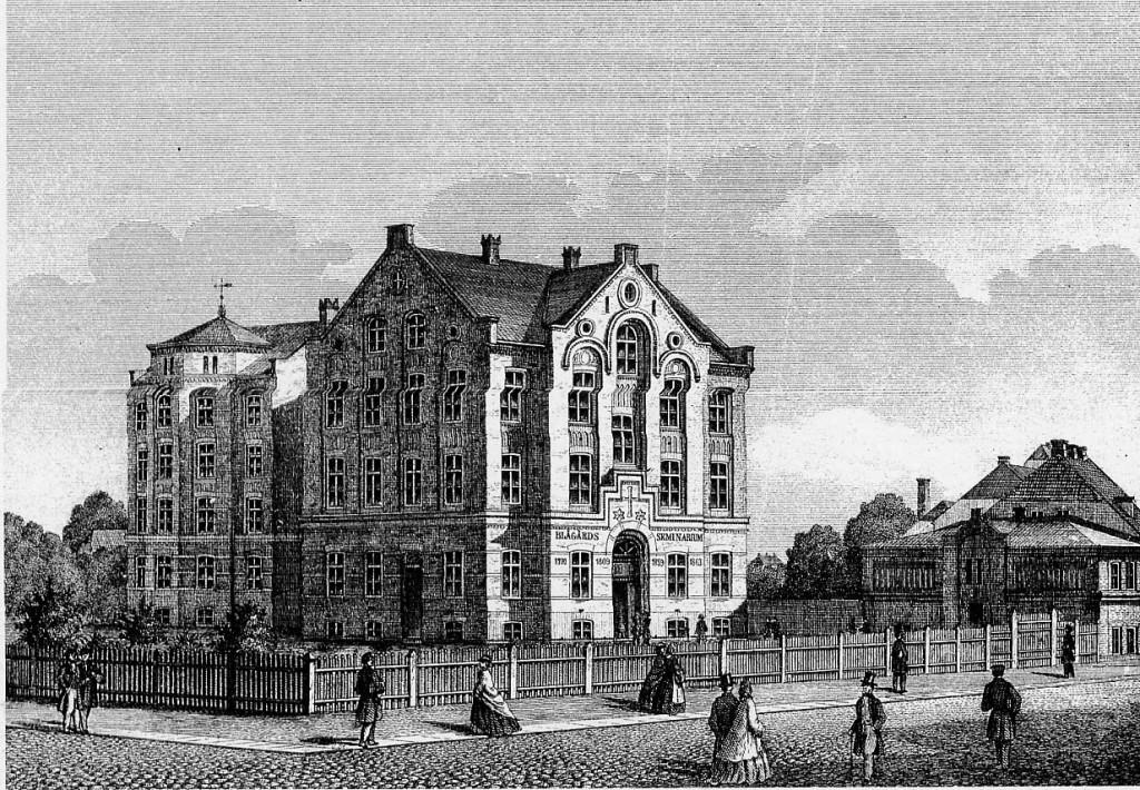 Blaagaards Seminarium. 1870.