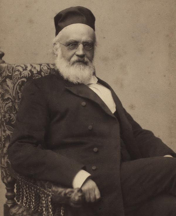 C. J. Brandt. Foto af Christensen & Morange (Det Kgl. Bibliotek)