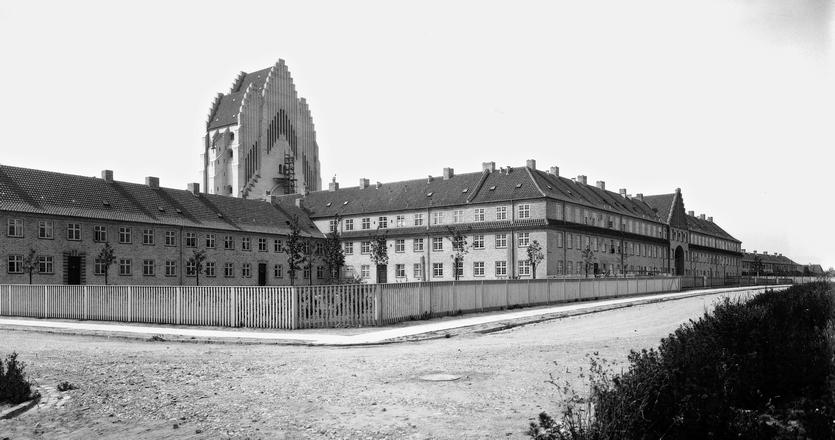På Bjerget. Foto af Peter Elfelt 1926. (Københavns Museum)