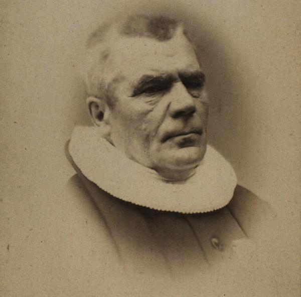 Peter Rørdam - Foto af Charles Anton Jensen (Det Kgl. Bibliotek)