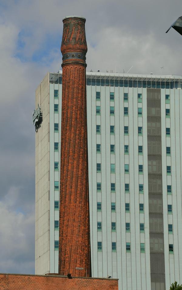 Den snoede skorsten (Foto Tina Høegh Nielsen)