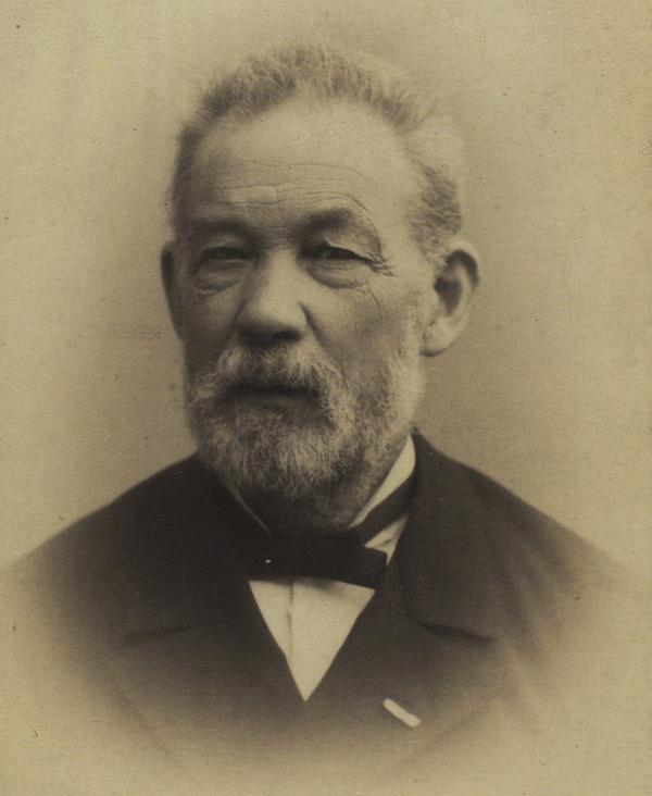 Adolph Steen - Foto af Harald Riise 1885-1888 (Det Kgl. Bibliotek)