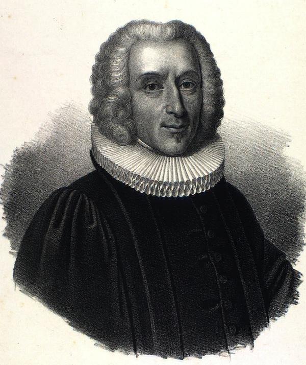 Hans Egede. Litografi af Emil Bærentzen (Det Kgl. Bibliotek)