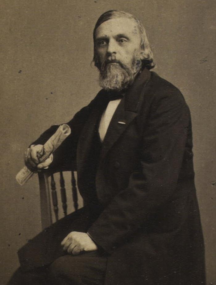 Henrik Rung. Foto af George Henricus Rosenkilde (Det Kgl. Bibliotek)