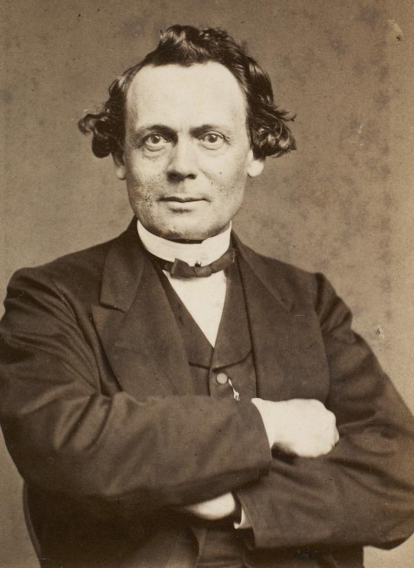 J.J.A.Worsaae - Foto af Hansen, Schou og Weller 1870 (Det Kgl. Bibliotek