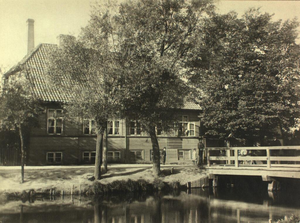 Svanemosegård ca. 1880 - ukendt fotograf (Frederiksberg Stadsarkiv)