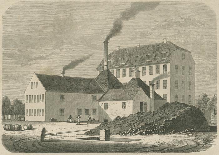 Bing og Grøndahl (Illustreret Tidende 1860-61)