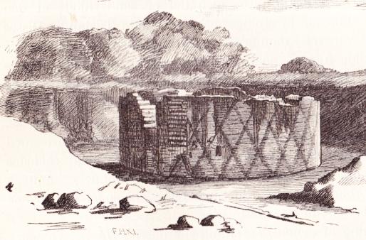 Hanetårnet (Gengivet i Carl Bruun Kjøbenhavn 1887)