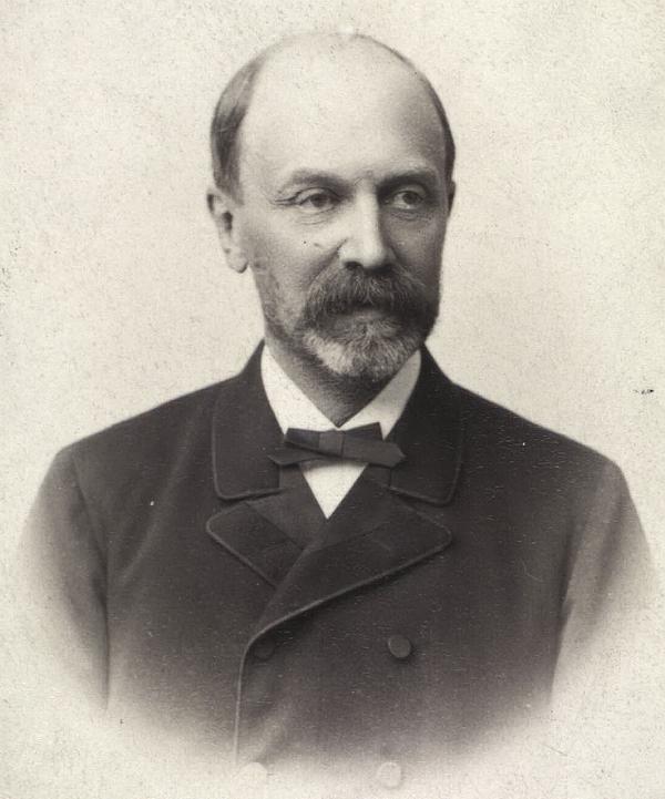 Hans Peter Ingerslev. Foto af Christensen og Morange (Det Kgl. Bibliotek)