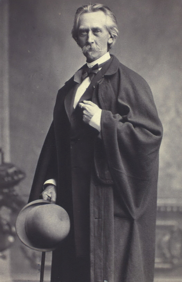 Hans Vilhelm Kaalund. Foto af N. C. Hansen og F. C. Weller. Det Kgl. Bibliotek.