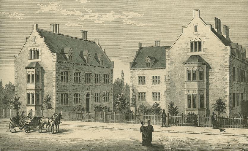 De Suhrske Friboliger (Illustreret Tidende 1876-1877).