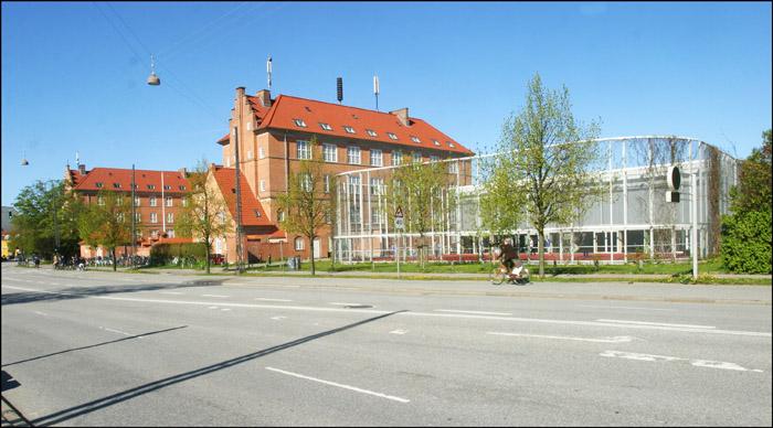 Nyboder Skole. Multisal. Foto af Andreas Trier Mørch (Fra Arkitekturbilleder.dk)