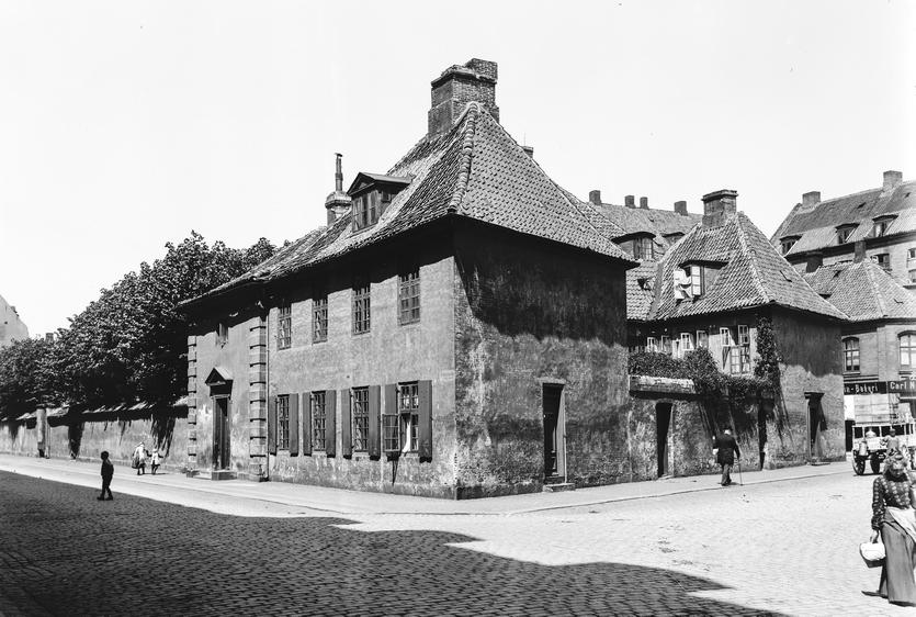 Søetatens Hospital. Foto af Frederik Riise (Københavns Museum)