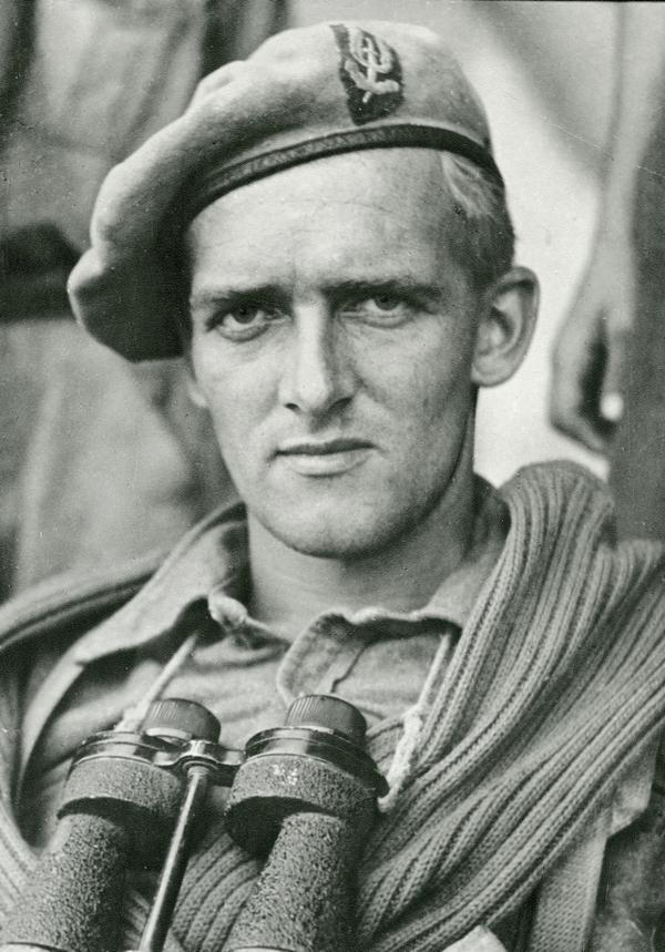 Major Anders Lassen. (Firhedsmuseet).