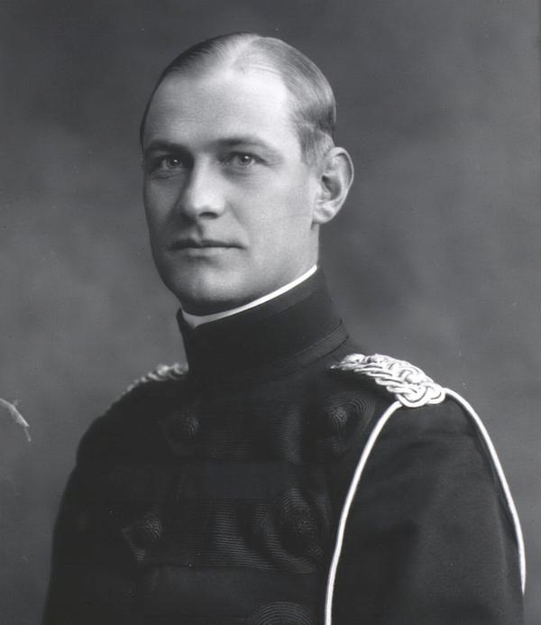 Jeff Hammelev. Foto af Julie Laurberg og Franciska Gad 1916 (Det Kgl. Bibliotek)