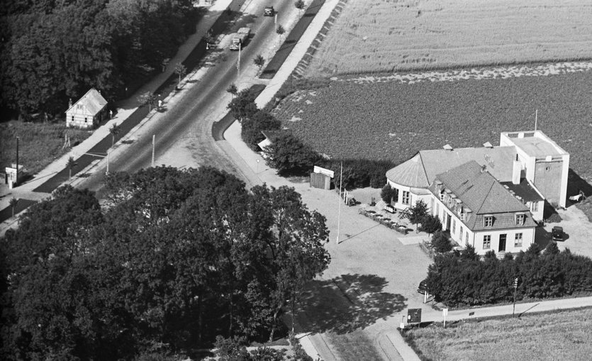 Frihedskroen ca. 1930. Foto I Det Kgl. Bibliotek.