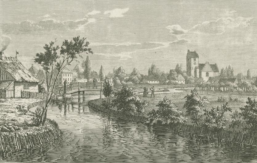 Illustreret Tidende 1863-64 - Parti af Lyngby